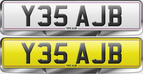Famous Plate Y35 AJB