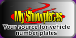 My Showplates supply show number plates - Click Here for more details
